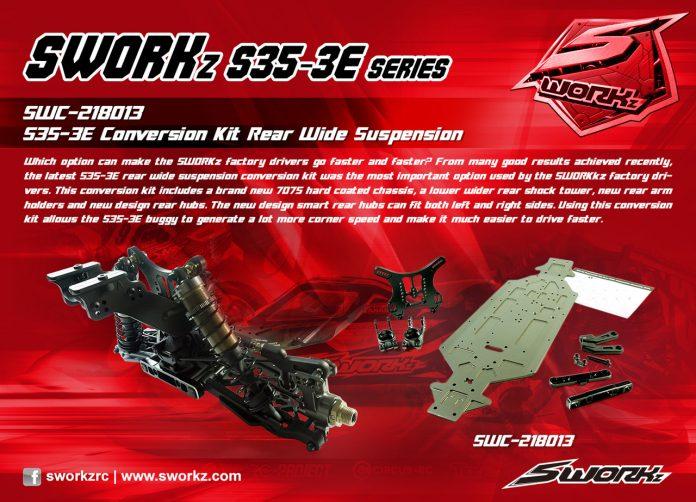 SWORKz S35-3E Conversion Kit Rear Wide Suspension