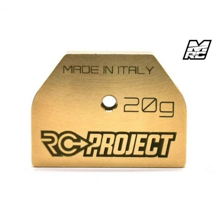 Nuovi pesi RC Project per HB Racing
